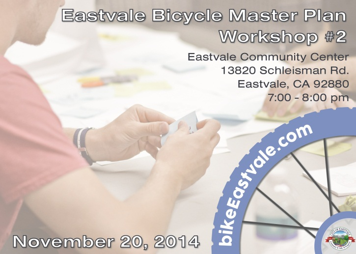 Eastvale Workshop 2 Flyer