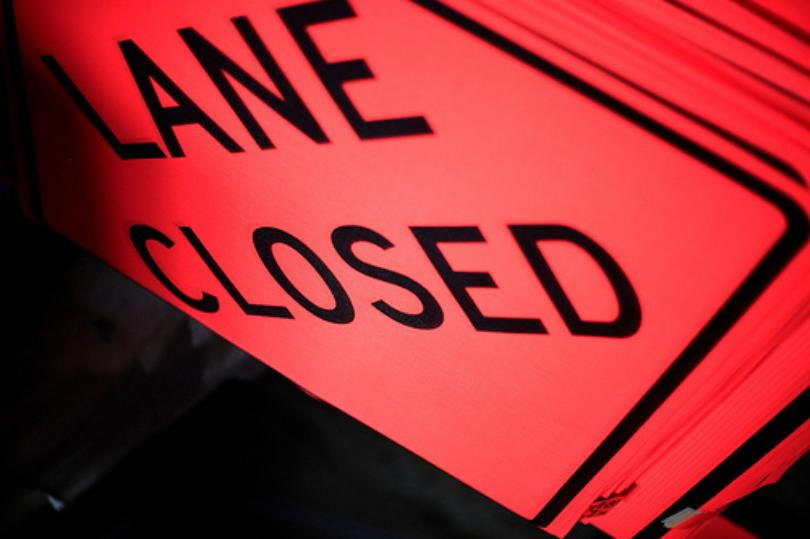 Lane Closed