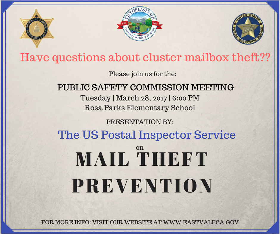 Mail theft Presentation