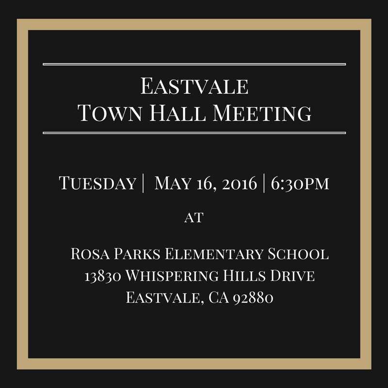 Town Hall Meeting_May 16, 2017