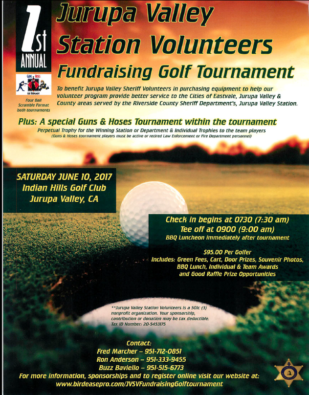 JVSV Golf Tournament