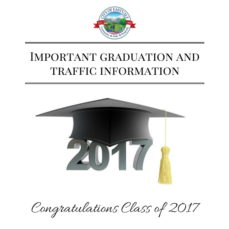 Important graduation and traffic information