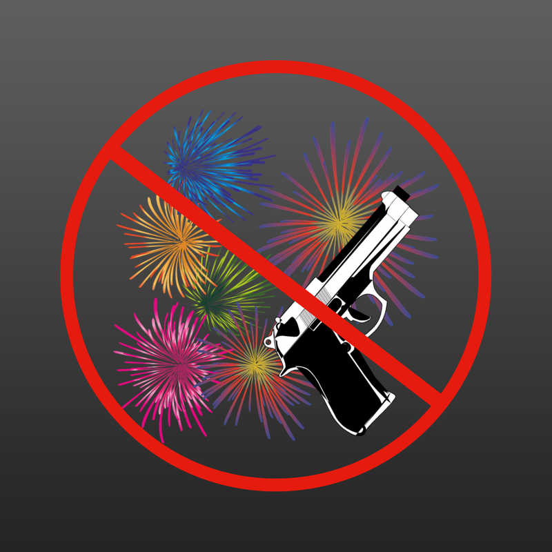 No Fireworks%2FFirearms