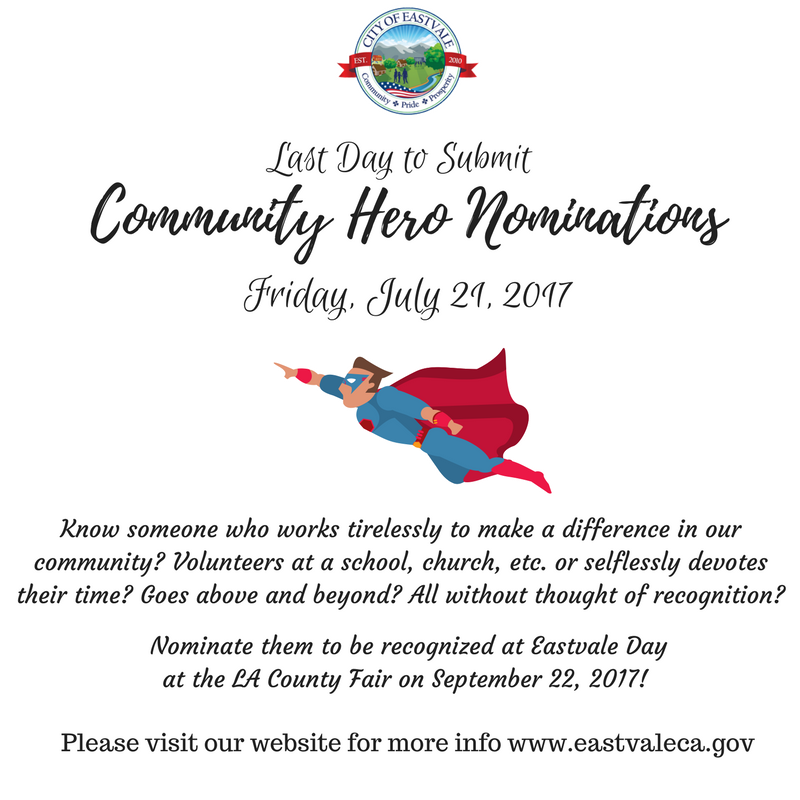Community Hero Nominations