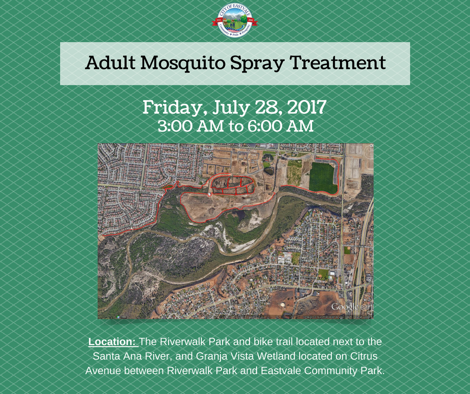 FB - Adult Mosquito Spray Treatment 7.28