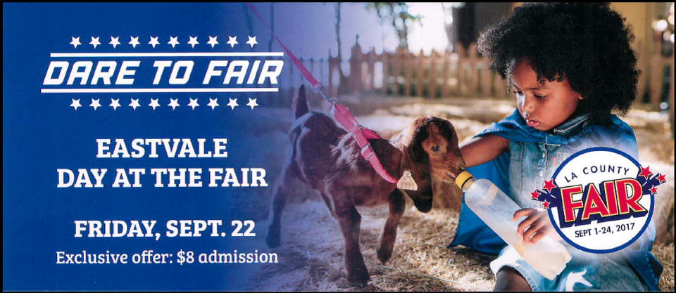 LA County Fair Ticket