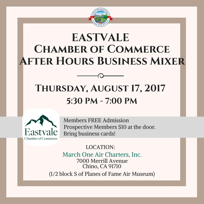 Chamber Of Commerce- After Hours Mixer