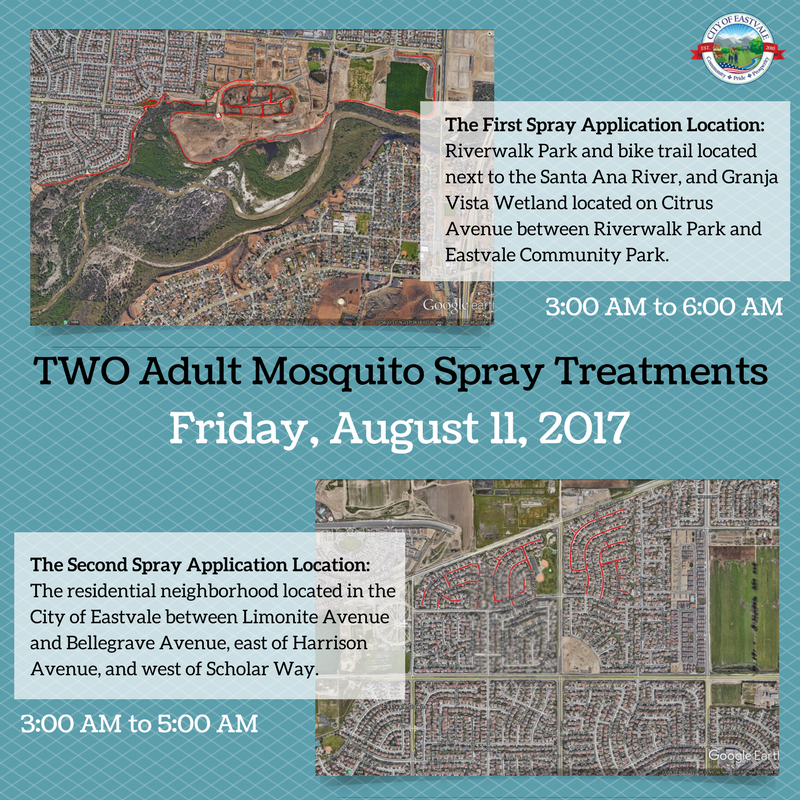 Adult Mosquito Spray Treatment