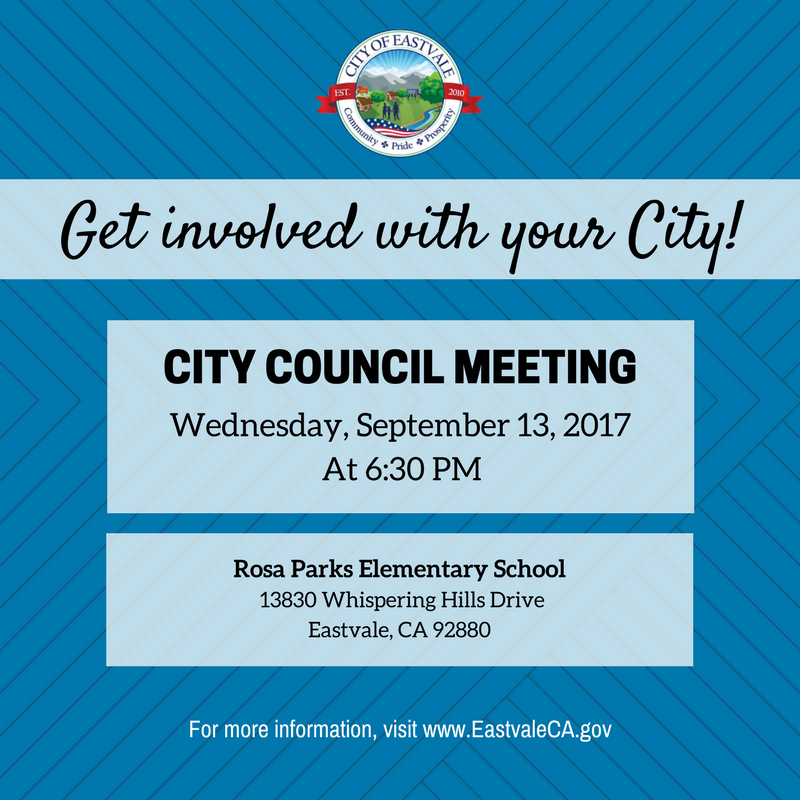 City Council Meeting 9/13