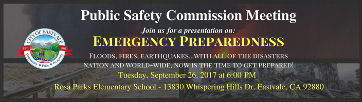 Emergency Preparedness Banner