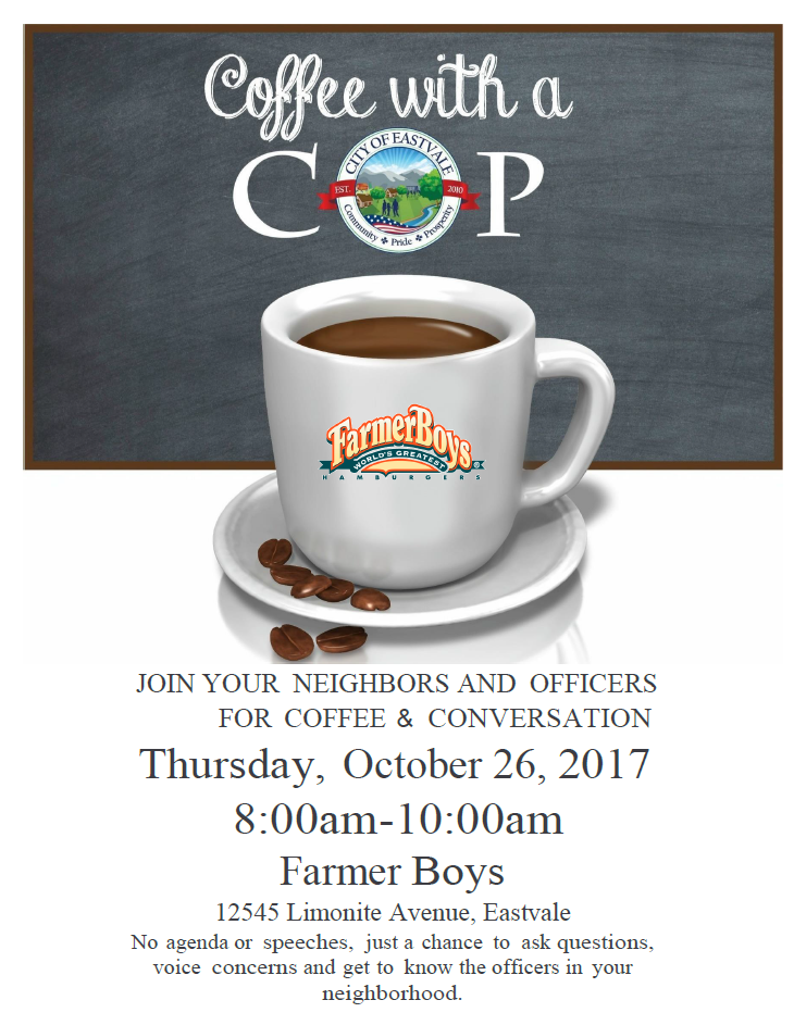 Coffee with a Cop png