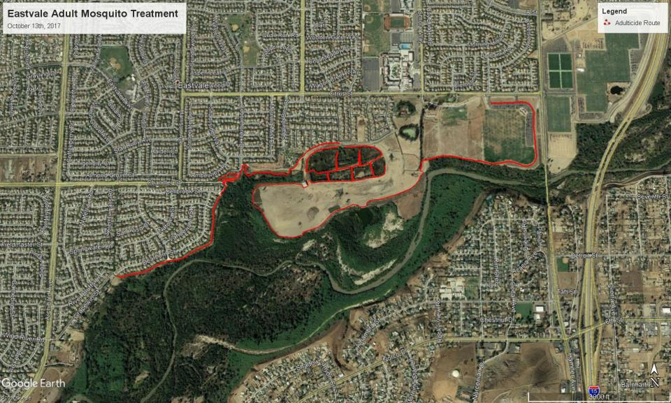Eastvale Trmt. Map 10-13-17