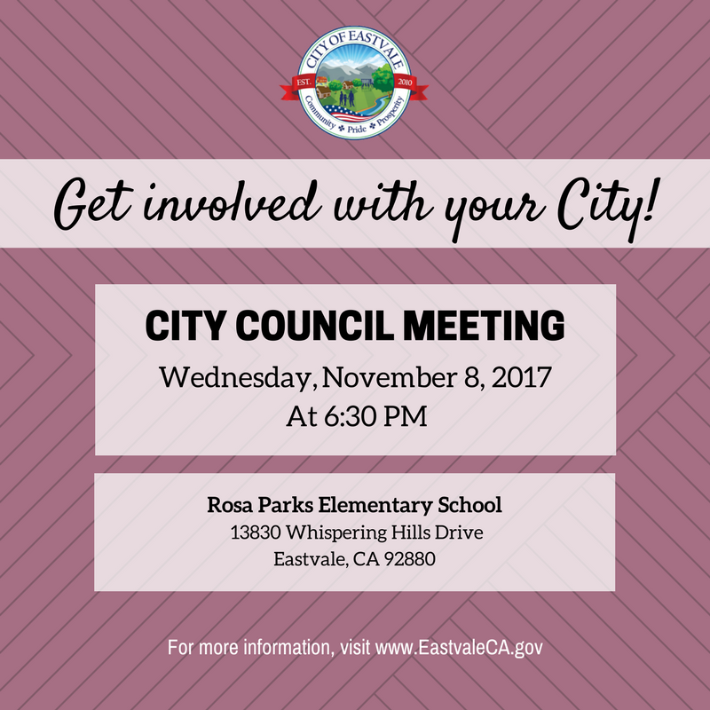 City Council Meeting 11-8-17
