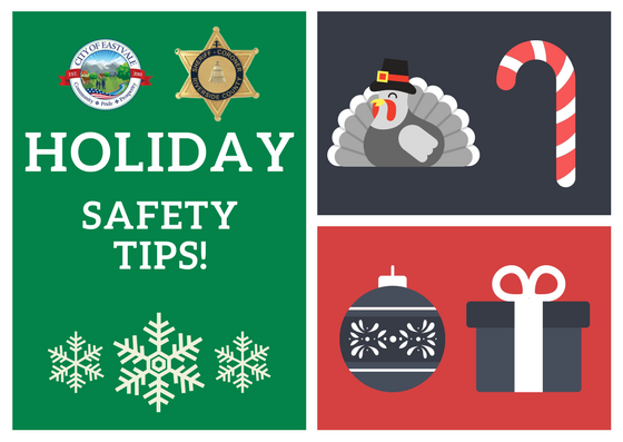 Holiday Safety Graphic