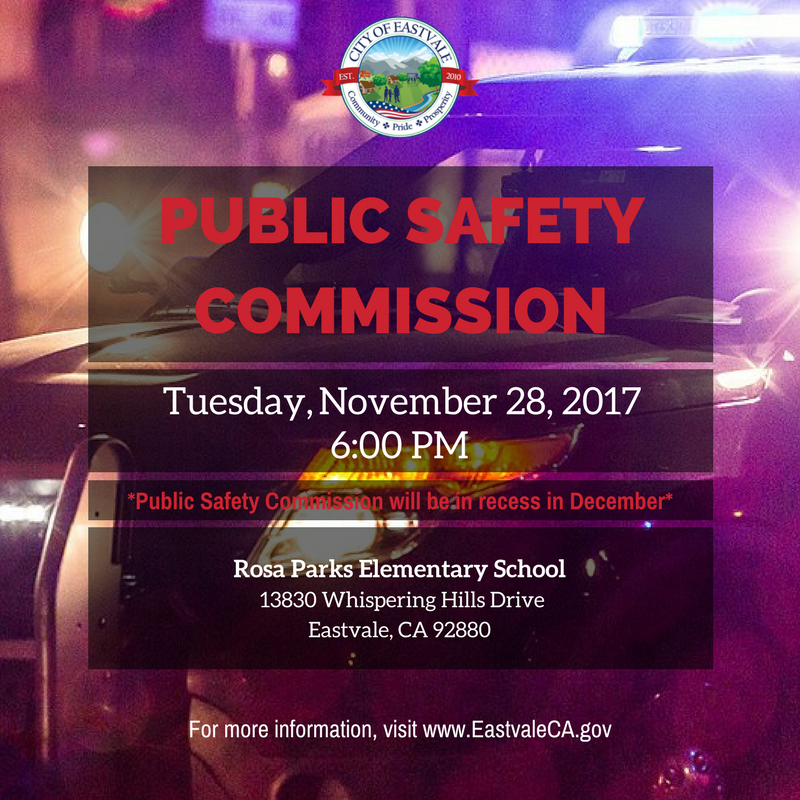 Public Safety Commission 11-28-17