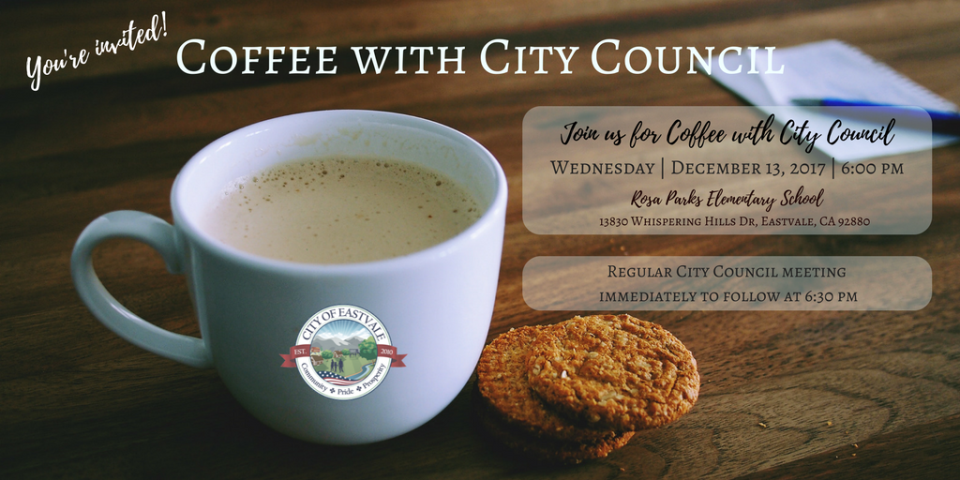 Coffee & Cookies with Council
