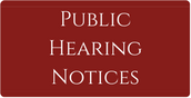 Public Hearing Notices