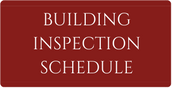 Building Inspection Schedule