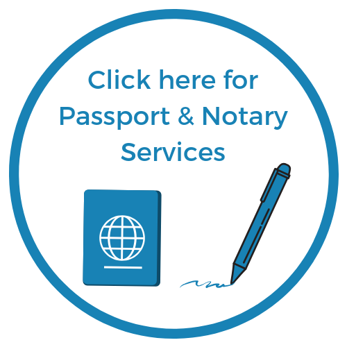 Click here for Passport & Notary Services