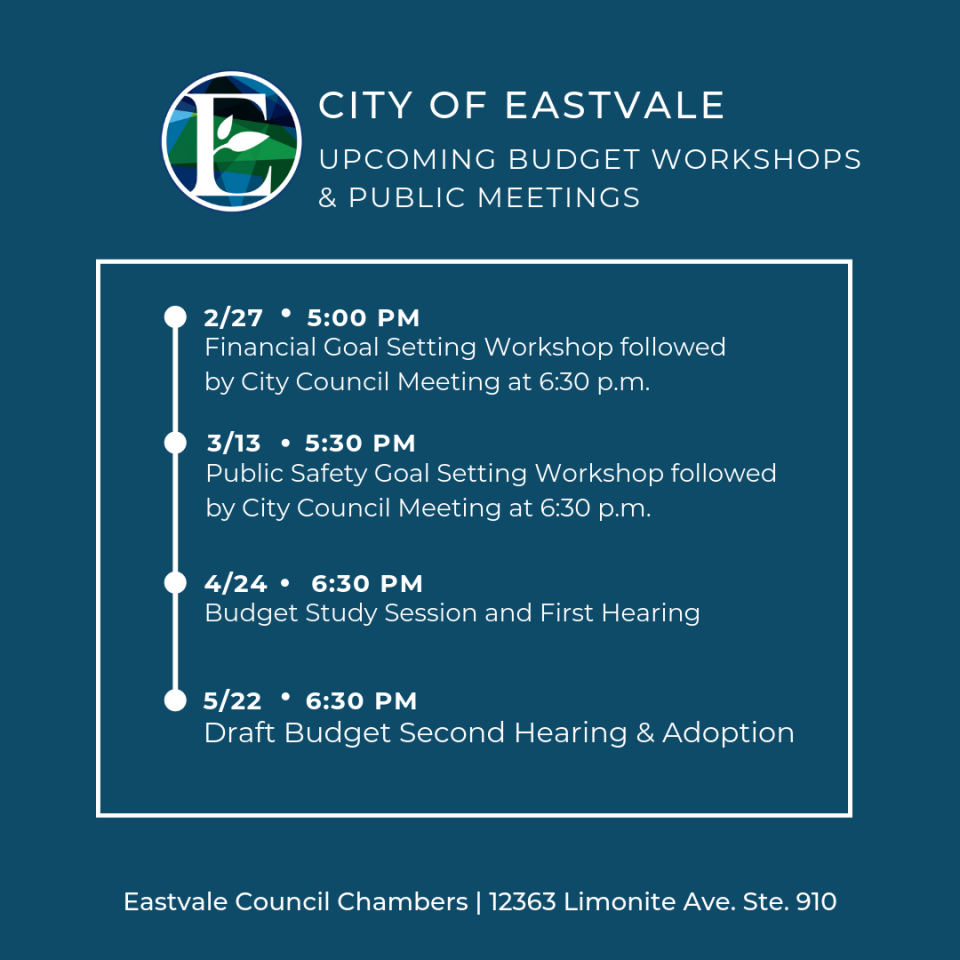 Public Meeting Schedule - Jan (9)