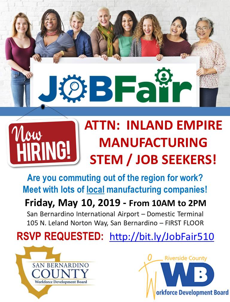 JOB FAIR FLYER 5.10.19