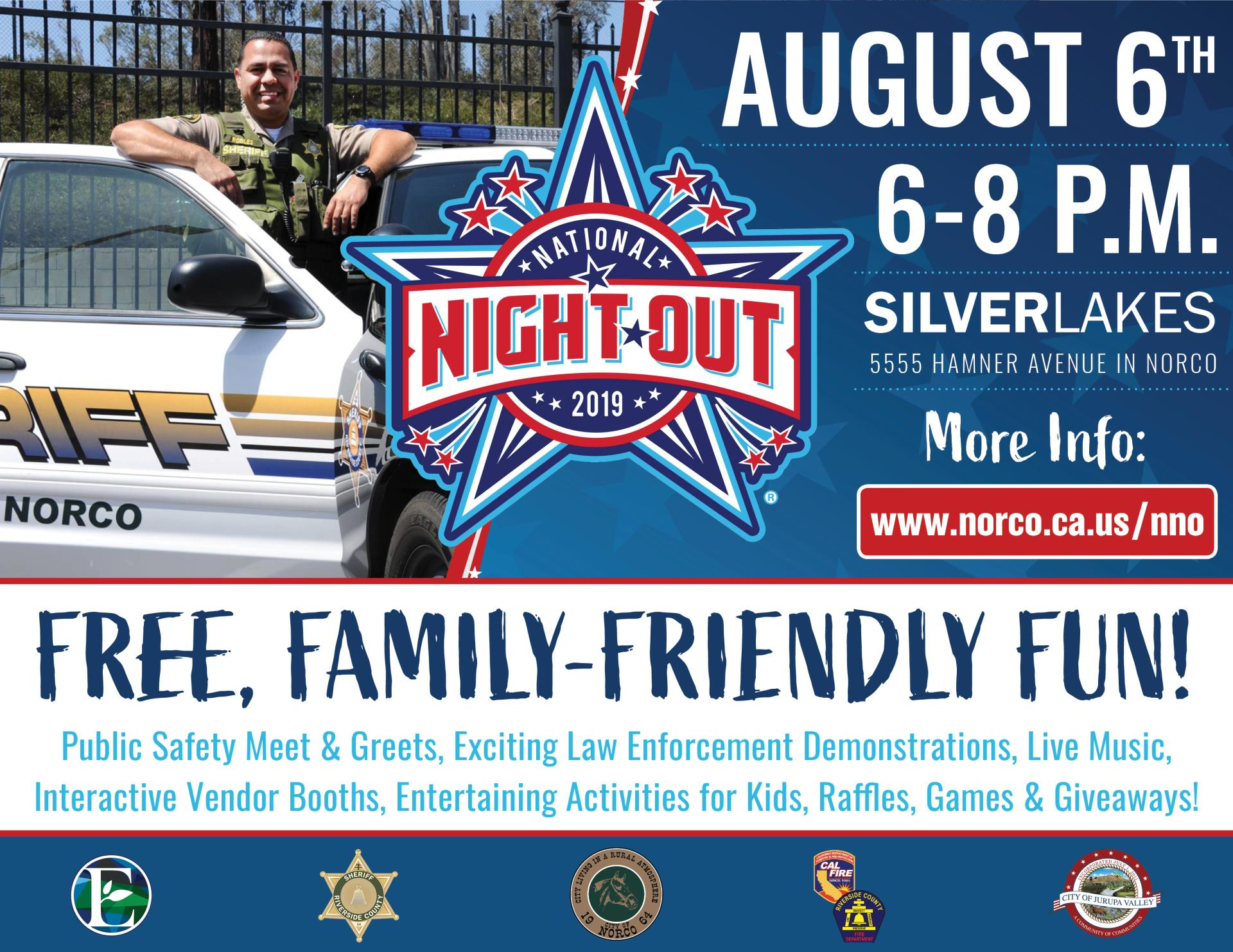 2019 National Night out Flyer