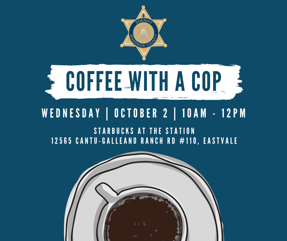 Coffee With A Cop - Facebook
